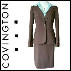 Covington 2-Piece Skirt Suit